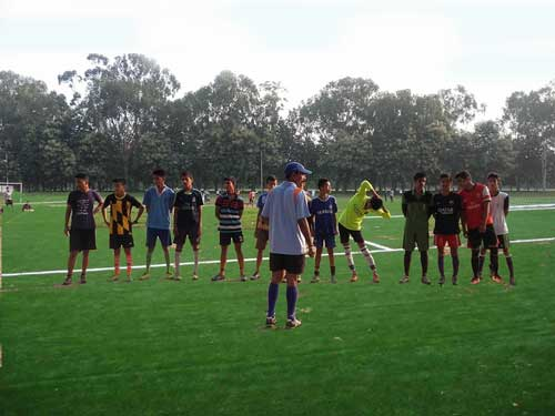 football grassroots India