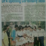Dehradun Football Academy in News