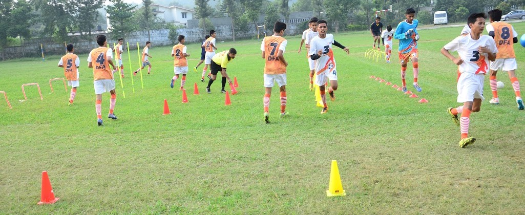 Dehradun Football Academy in India